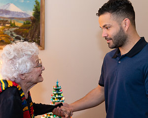 jose altuve surprises buckner parkway place resident for her birthday
