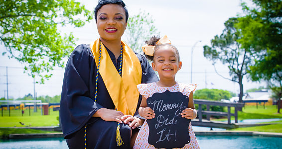 Prayer and Perseverance: Project HOPES helps Beaumont mom graduate with honors