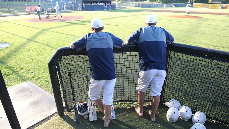 longview coaches go barefoot at baseball game for buckner shoes for orphan souls