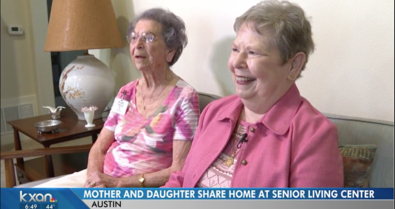 Mom, 95, and daughter, 71, grow bond in shared senior community home