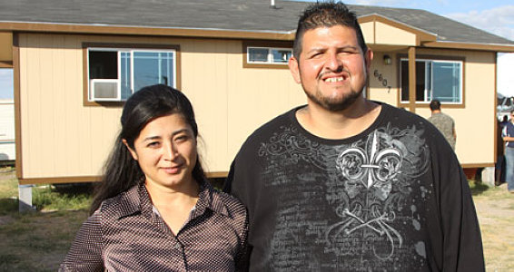 Churches, Buckner Provide Home for Edinburg Family