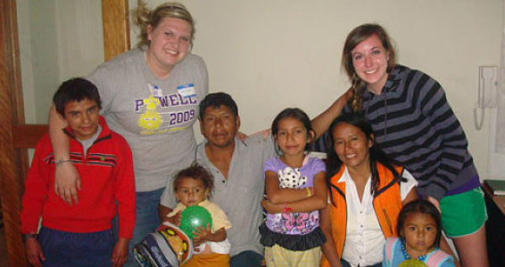 First Person: Groomed for the Gospel in Peru
