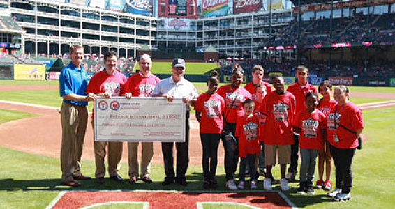 Buckner Featured at the Texas Rangers Game Sept. 24