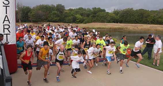 First-Annual Barefoot Run a Hit