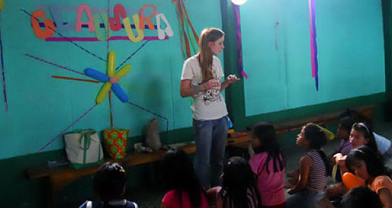 Long-Term Volunteer Takes on Parenting Role in Guatemala