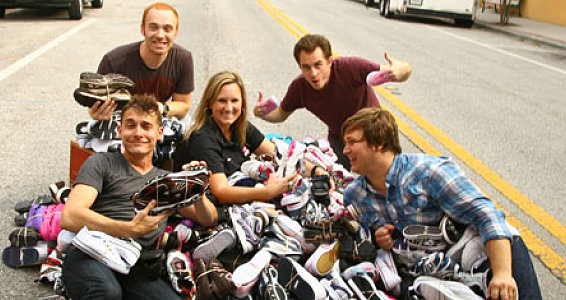 Radio Stations Collect More Than 46,000 Pairs of Shoes