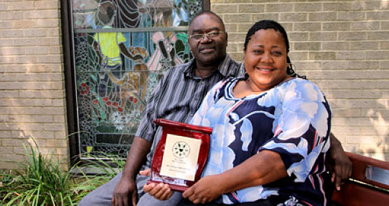 Beaumont Couple Honored As Foster Parents of the Year