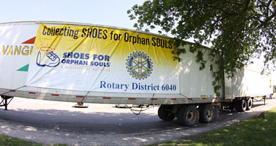 Drive for Success: Missouri Rotarians keep trucking for shoes