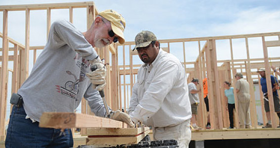 Mission team builds homes, hope in Rio Grande Valley