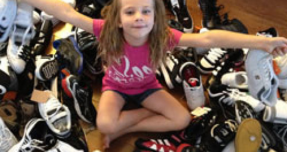 Peachy keen idea: Arizona girl sells fruit for Buckner Shoes for Orphan Souls®