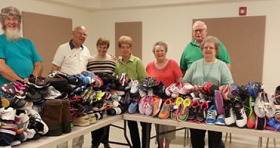 From shoes to family: A church shoe drive brings Russian orphans home