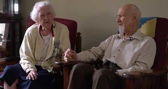 Couple celebrates 81 years of marriage this Valentine's Day