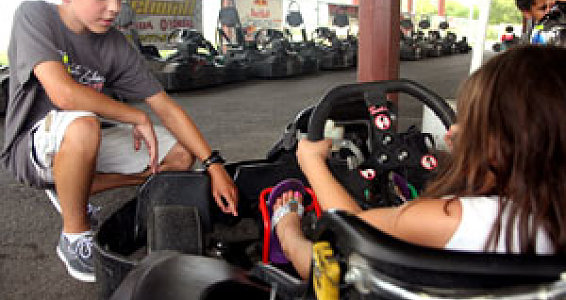 Race car driver, 13, karts foster kids to next level