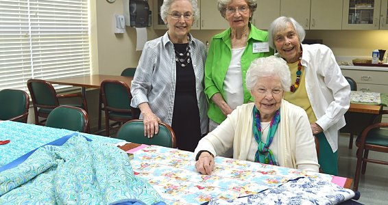 Quilting joy: Houston women make blankets for those in need