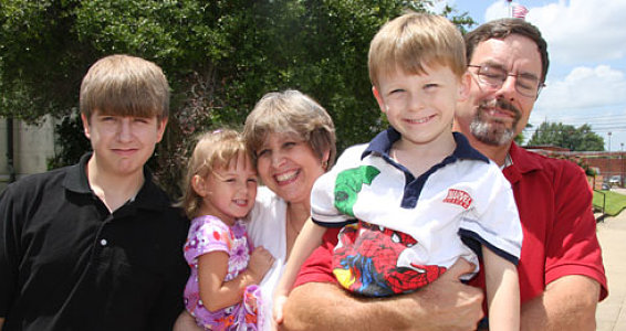 Family Grows by Two through Foster Care and Adoption