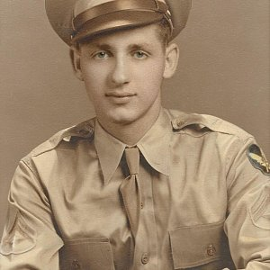 Houston Dickerson enlisted in the Air Force in September 1941 and served until the end of WWII.
