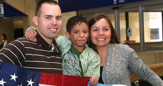 Guatemalan Orphan Finds Home