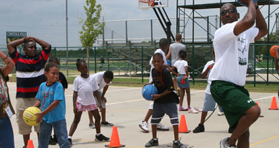 Buckner Children Receive Inspiration, Training at Legacy Sports Camp