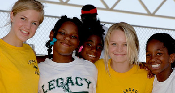 Legacy Sports Camp Keeps Buckner Kids Active