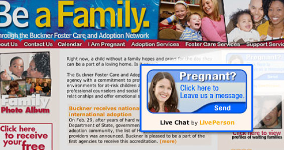 Live Chat Offers Quick Counseling for Women in Crisis