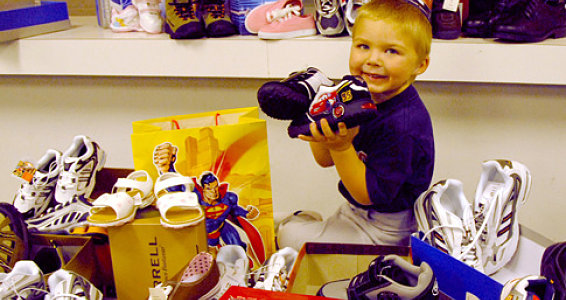 Shoes from Kids to Kids