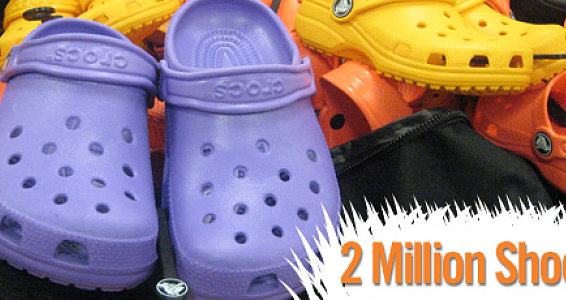 Shoes Hits the 2 Million Mark