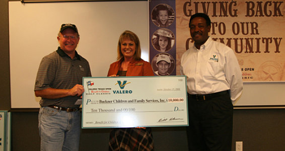 Valero donates $10,000 to Buckner children