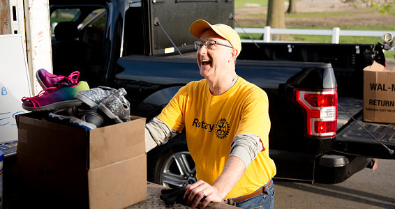 Missouri rotarians: 320,000 pairs of shoes and counting
