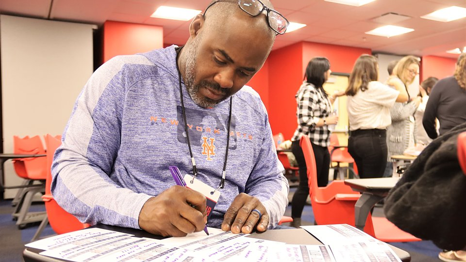 mlb representatives wrote notes to children receiving shoes