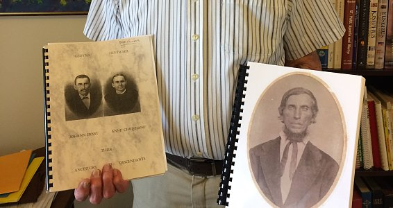 Going back in time: Senior shares genealogy hobby