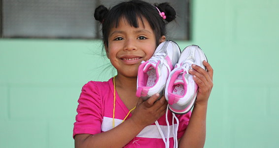 Buckner Shoes for Orphan Souls®: The first step in transforming a child's life