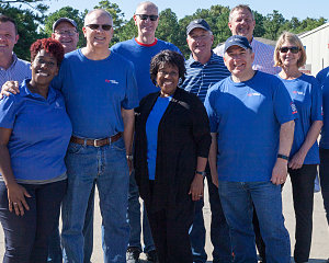noble energy volunteers often to help buckner ministries