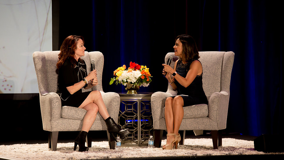 patricia heaton talks about faith family and service at buckner hope for children benefit