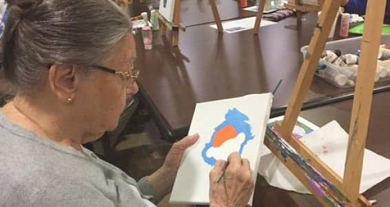 Baptist Retirement Community partners with local museum to provide art classes for seniors