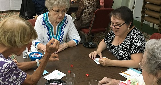 Rolling into summer: Seniors find fun in Bunco