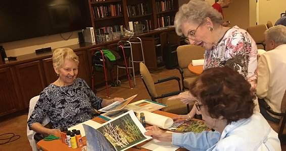 Friday photo: Austin seniors get crafty