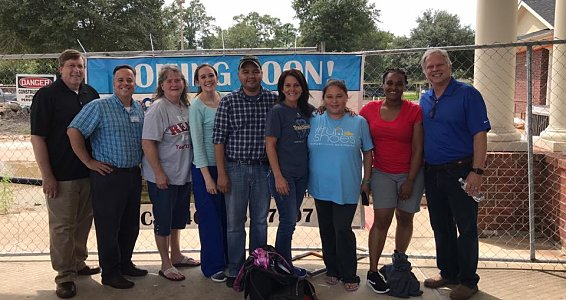 Senior living staff rally together during Harvey relief