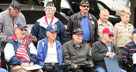 Friday photo: Honoring veterans
