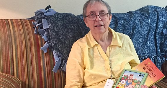 Resident feature: Children's author Ida Luttrell