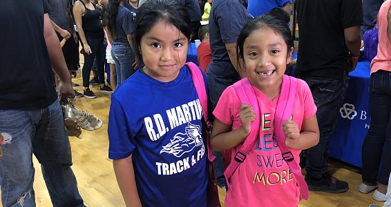 Buckner sends 800 kids in the Rio Grande Valley back to school with new backpacks, school supplies, shoes