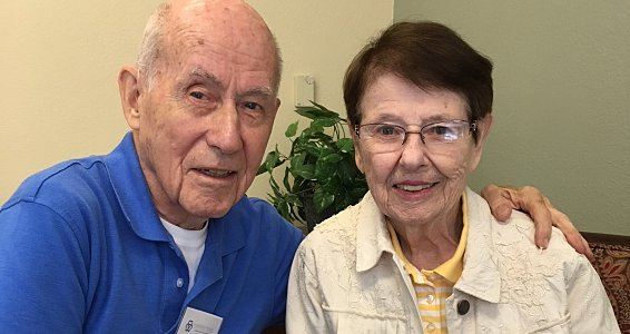 Parkway Place couple shares 63 years of love