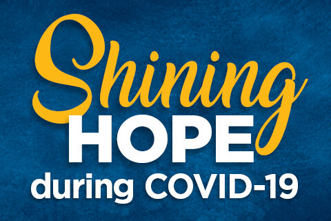 shining hope during covid callout