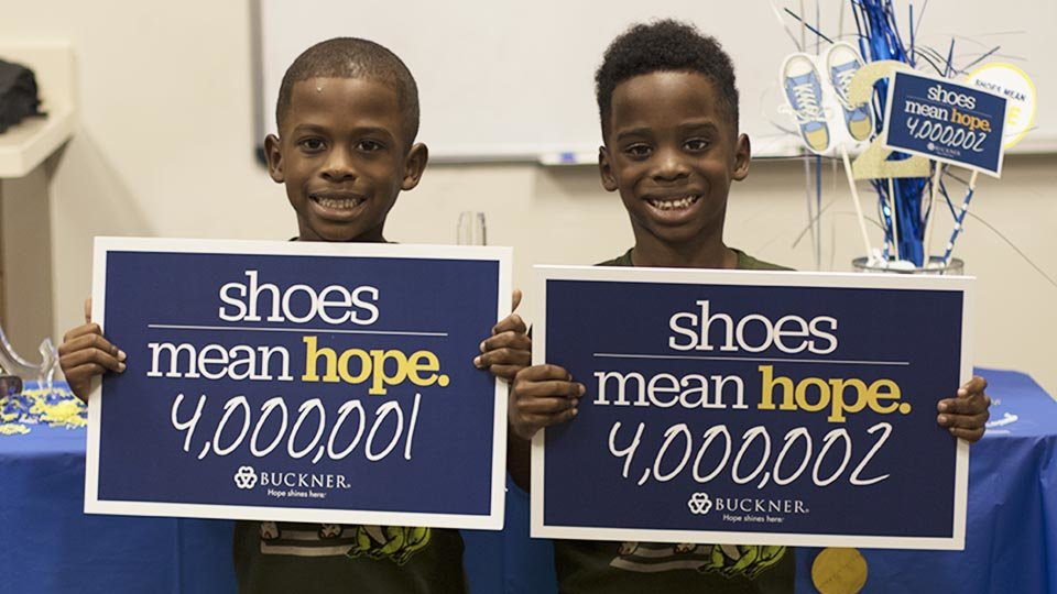 shoes mean hope