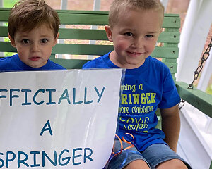 springer family adopts little boy