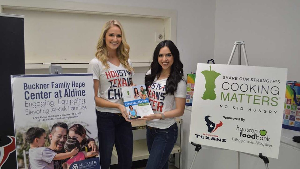texans and hfb aldine hope center