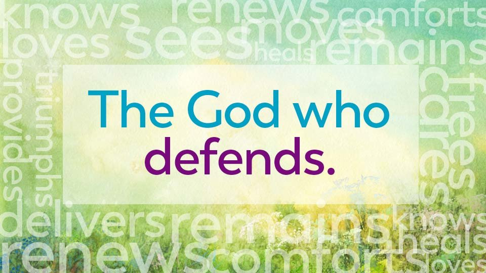 the god who is defends
