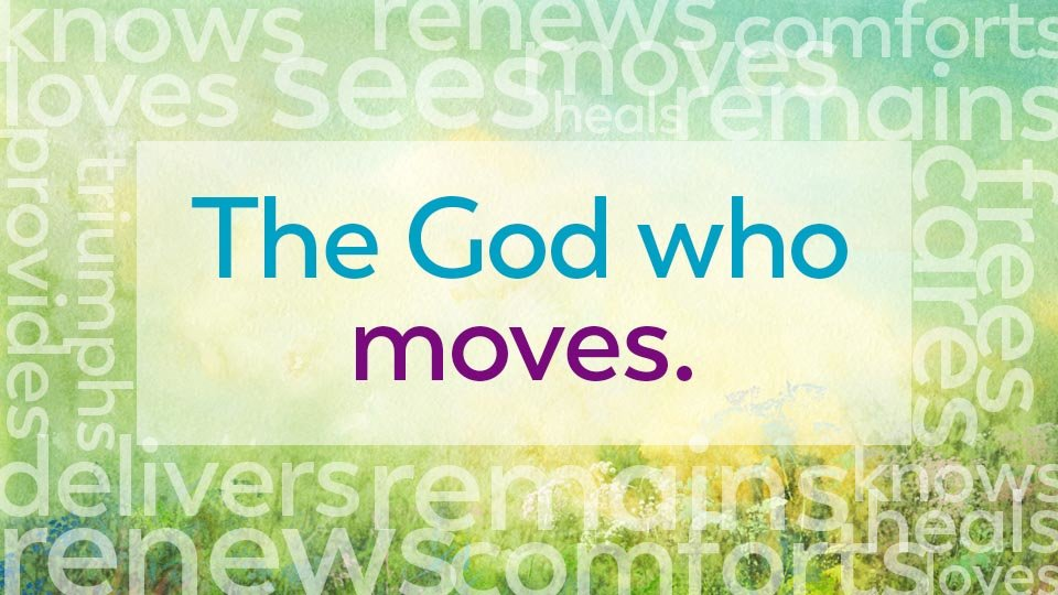 the god who moves