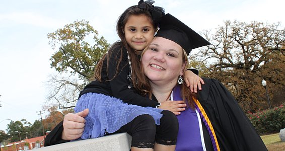 Determined, driven and dedicated: Lufkin single mom overcomes obstacles to succeed