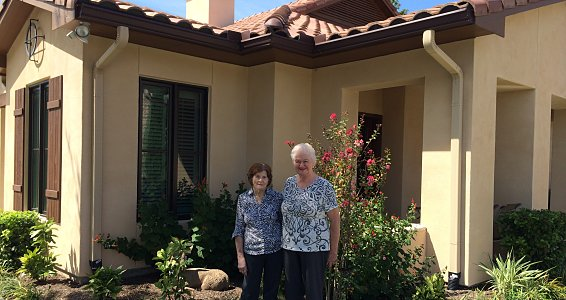 Friends of 83 years move in together, share retirement