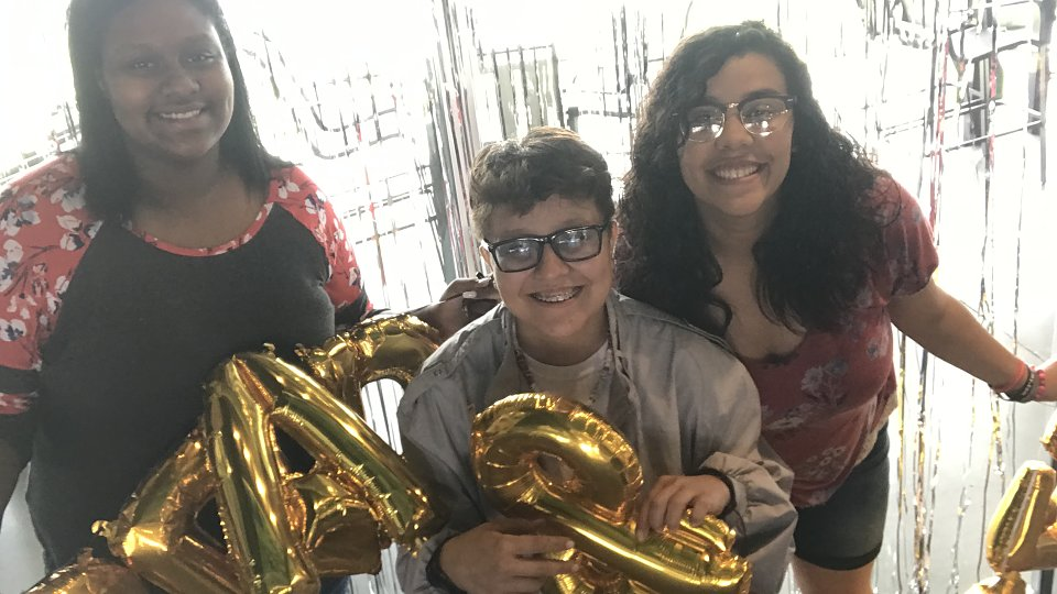 youth aging out of foster care celebrate graduating from high school